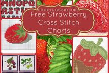 Free Cross Stitch And Embroidery Charts and Patterns / Free cross stitch designs and embroidery designs from All over the internet. All gathered on one place for you. #cross-stitch #freepatterns #embroidery #redwork #blackwork
