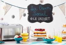 ICE CREAM / Introducing Le Creuset's New Ice Cream Collection!  / by Le Creuset