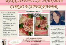 Corsi cake design Wafer paper