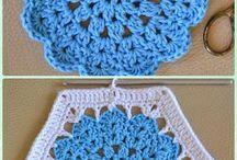 Crochet motifs/granny squares / Crochet granny squares and motif patterns