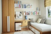 Tight Spaces Ideas / Ideas for tight spaces and small bedrooms.