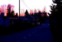 Ночь, весна, Миккели. / Небольшая ночная прогулка по городу, в котором я живу.