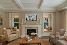 Fireplace Cabinetry/Shelf Inspiration