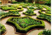 Barokkipuutarhat / Kurkista erilaisiin puutarhoihin ja poimi parhaat ideat!