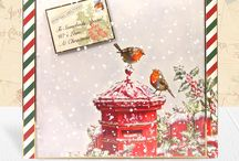 Hunkydory Christmas cards