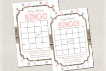 Baby Shower BINGO CARDS printable / Baby Shower BINGO CARDS printable