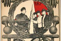 Soviet Propaganda Art / Examples of original Soviet propaganda posters available at www.artofrevolution.co.uk