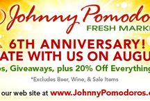 What's Happening at JP's / Events, coupons and specials happening at Johnny Pomodoro's
