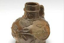 Baardmankruiken en ander oud aardewerk