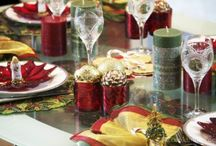 AZ Tablescapes / Table settings featured on www.azcookbook.com / by AZ Cookbook | Feride Buyuran