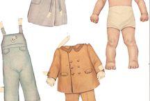 Muñecas de Papel - Paper Dolls