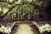Stylish garden weddings