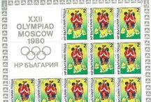 Swimming Stamps / Stamps with topic Swimming