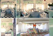 Vintage caravan love
