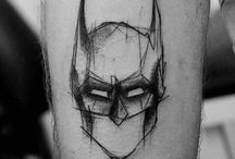 batman tatoo