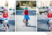 Biking Families / Ideas for photographing two wheel families.