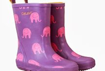 These wellies are made for walking... / #Celavi #GreenCotton