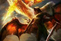 Angel inspiration / Ideas for angel photo shoot