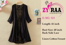 zyraa shrugs D. No. 101 / ✨✨✨ZYRAA✨✨✨ Zyraa is back in market with  Imported shrug Back fully embroidered lace Fabric : imported Linen cotton Shrug Quantity : 3 Full Catalog : 595 Singles : 695 Our Fabric Quality Is Very Good  Rest details mention on images Regards Zyraa Emporium Surat