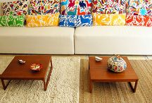Mexican Cushions & Rugs