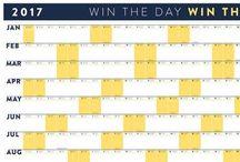 Visuals: Calendars and Data Tracking