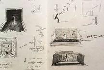 Scenic design sketch