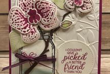 Stampin Up - Climbing Orchid
