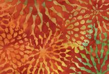 Tonga Sunburst Batiks / Tonga Sunburst Batiks by Timeless Treasures