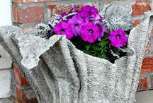 virág kaspó házilag