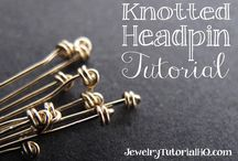 How to make knotted pin heads