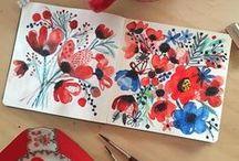 Watercolor Inspo!