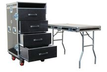 mesas transportables