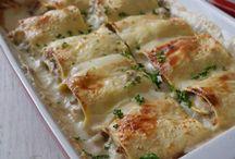 lasagne in bianco