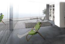 Krzesło do domu i ogrodu. Niezwykły projekt młodej artystki / Praktyczne rozwiązanie połączone z ciekawym designem. Krzesło, które z powodzeniem sprawdzi się zarówno w przestrzeni mieszkalnej jak i ogrodowej. http://www.dobrzemieszkaj.pl/otoczenie_domu/93/krzeslo_do_domu_i_ogrodu_niezwykly_projekt_mlodej_artystki,100796.html