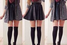 Δερμάτινη φούστα...!