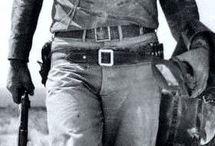John Wayne and old west
