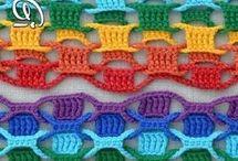 Pontos de crochê