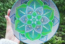 Decorative plates by Samskhara Art