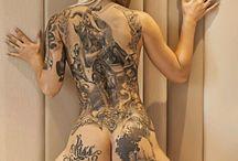 donne tatuate