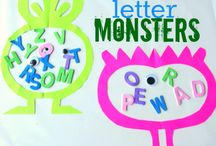 M Is For Monster / by Kristi Blank