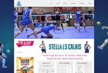 Stella Calais - Volleyball / by Web Agency Studio