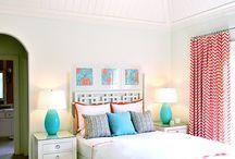 decoracion cuartos de niñas en tourquoise