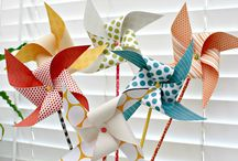 pinwheel decoration