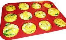 Muffin tin bake sweet and savory