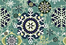 Christmas fabric / Fabric, Wallpaper, Gift Wrap
