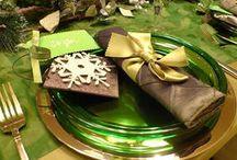 Christmas Table settings