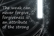 Forgiving / by Angie Powell