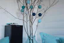 cottonball decorations