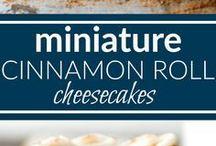 cinamon cheesecakes