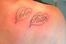 My tattoos etc